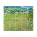 small IXXI Mural decoration system 100 X 80 Van Gogh Les Vessenots in Auvers 1