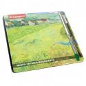 small Van Gogh's Boxset of 24 watercolor pencils by Bruynzeel 0