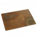 small Zebra Vasarely copper postcards 0