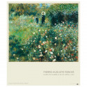 small Poster Woman with a Parasol in a Garden by Renoir 0
