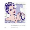 small Poster Roy Lichtenstein: Woman in Bath 0