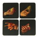 small Set 4 Coasters Rembrandt 0